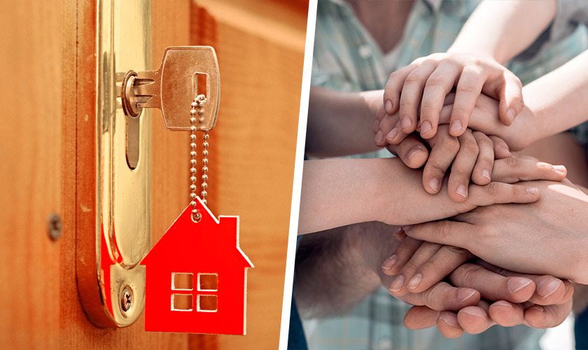 Dos historias de cómo el cooperativismo ayuda a cumplir el sueño de la casa propia