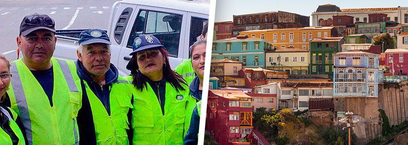 Renacer Patrimonial, la agrupación encargada de limpiar las calles de Valparaíso