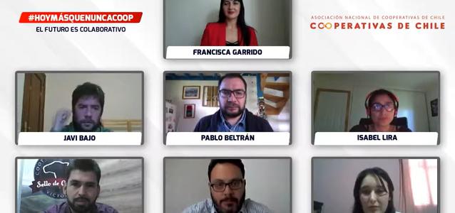 Jóvenes cooperativistas dan inicio al «Mes de las Cooperativas» con un seminario online