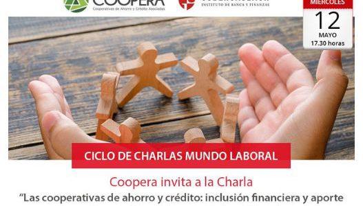 Charla Instituto Guillermo Subercaseaux: «Las cooperativas de ahorro y crédito y la inclusión financiera»