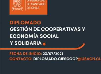 Ya se encuentran abiertas las postulaciones para el Diplomado en Gestión de Cooperativas y Economía Social y Solidaria (Modalidad presencial)